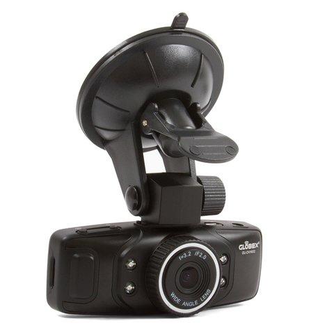 Автовидеорегистратор на 2 камеры Globex GU-DVH002 Превью 1