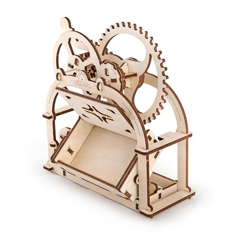Механічний 3D-пазл UGEARS Шкатулка-візитниця Прев'ю 4