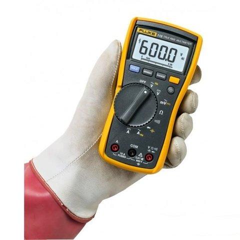 Цифровий мультиметр Fluke 115 + вимірювальний набір TLK-225-1 Прев'ю 4