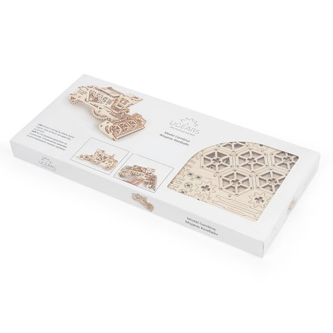 Mechanical 3D Puzzle UGEARS Combine Harvester - /*Photo|product*/