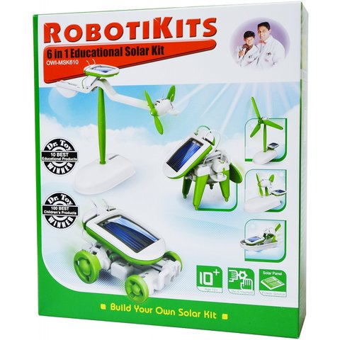 6-in-1 Solar Robot Kit CIC 21-610 - /*Photo|product*/