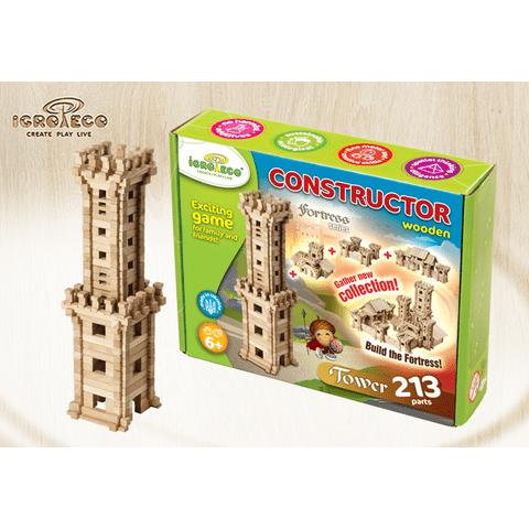 """Juego de construcción IGROTECO """"Torre"""" Vista previa  5"""