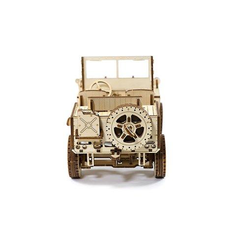 Деревянный механический 3D-пазл Wooden.City Автомобиль 4х4 Превью 2