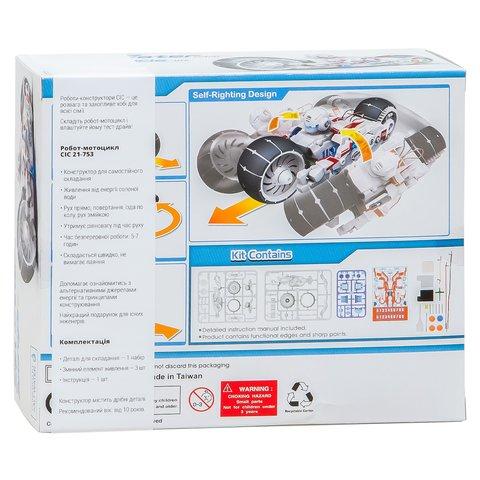 Робот-мотоцикл на енергії солоної води, STEM-конструктор CIC 21-753 Прев'ю 12