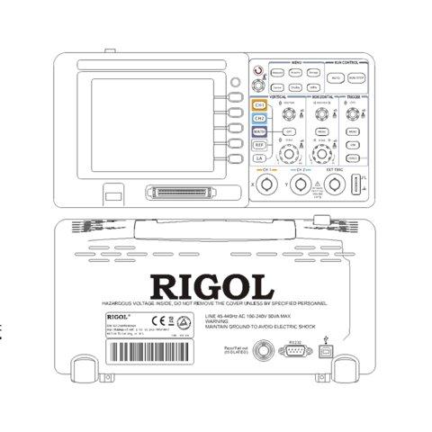 Цифровой осциллограф смешанных сигналов RIGOL DS1052D - Просмотр 8
